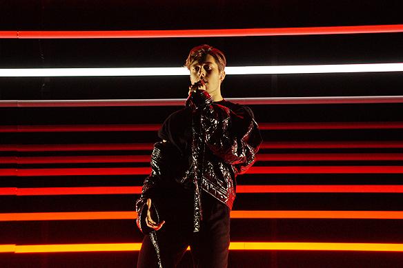 """Benjamin Ingrosso är en av artisterna som medverkar i Melodifestivalen i Karlstad med sin upptempo låt """"Dance You Off"""". Foto: Peter Ahlborg"""