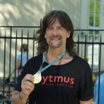 Robert Wells sprang Göteborgsvarvet