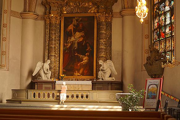 Vackra Klara kyrka i Stockholm. Foto:PeterAhlborg