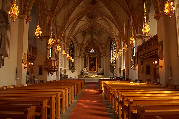Vackra Klara kyrka i Stockholm brukar jag besöka, sägerPeterAhlborg. Foto:PeterAhlborg