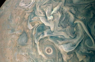 Image of Jupiter's atmosphere