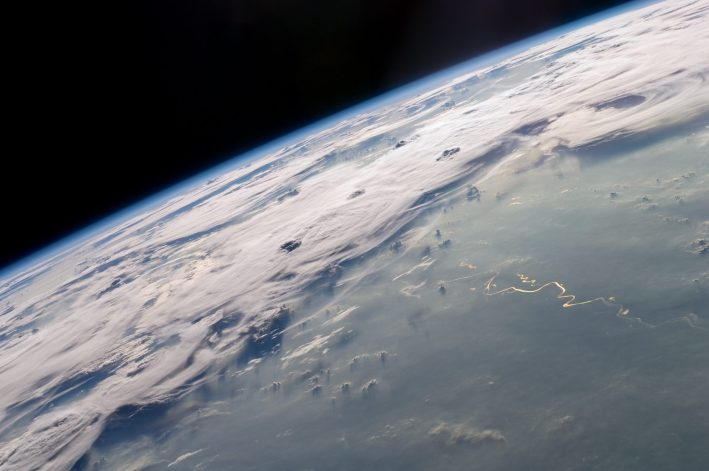 Earth from the ISS.