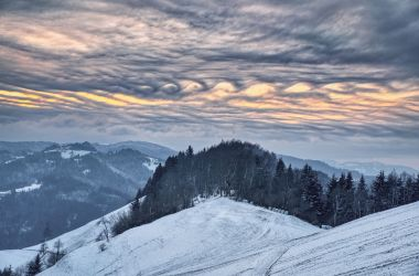 Kelvin-Helmholtz clouds over Slovenia. By Gregor Riačevič.