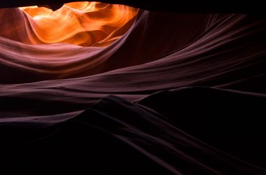 Antelope Canyon has some of the most dramatic weathering patterns in the world.