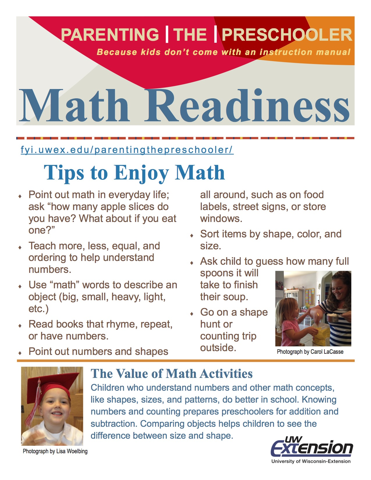Math Readiness Parenting The Preschooler