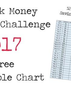 week money savings challenge printable chart also  fyi by tina rh fyibytina
