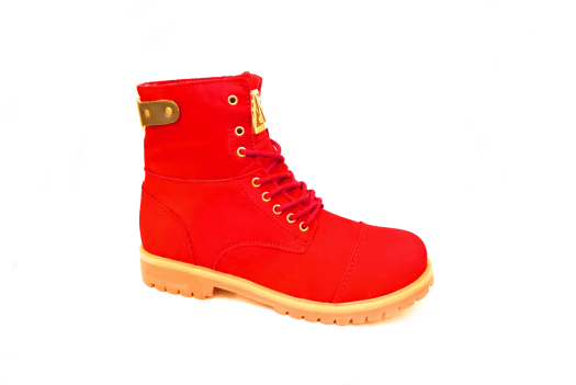 Negash Heru Boots in red