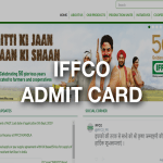 IFFCO ADMIT CARD