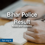 Bihar Police Constable Result 2020 by CSBC