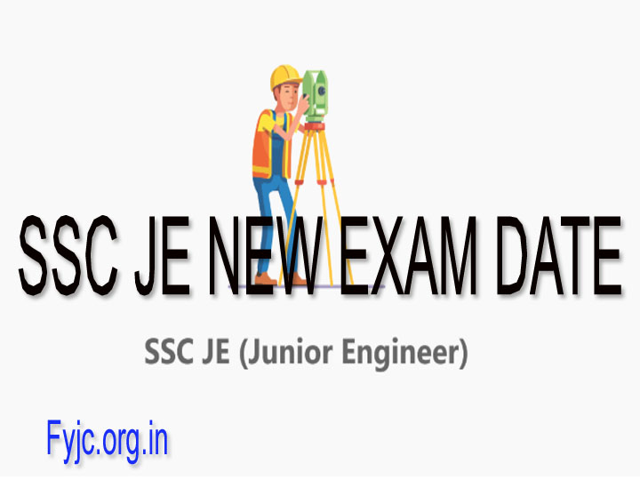 SSC JE New Exam Date