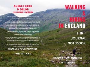 Walking & Hiking in England Walking & Journal Cover