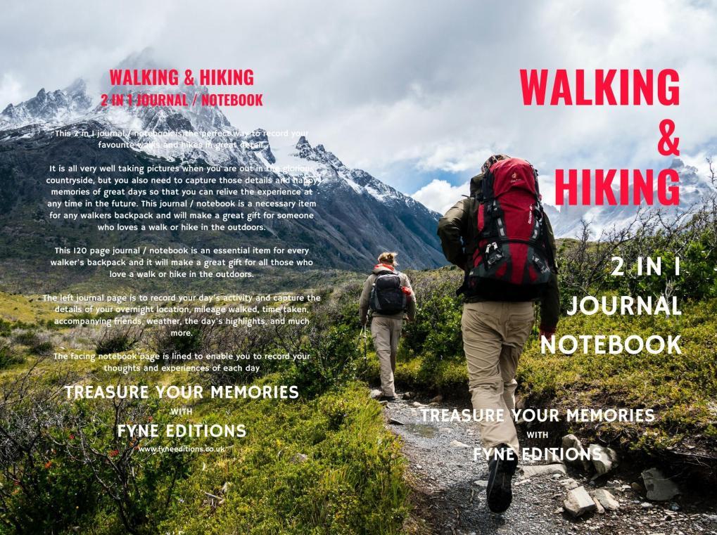 Walking & Hiking Journal & Notebook