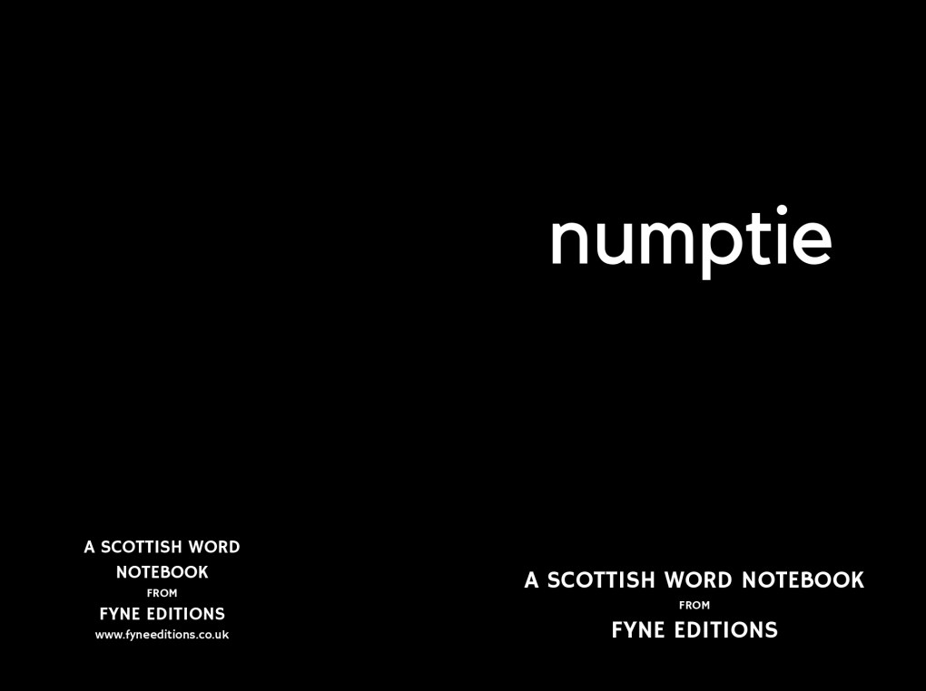Scottish Word - Numptie