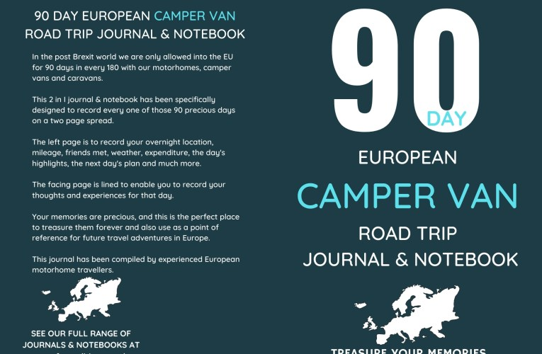 90 Day European Camper Van Road Trip