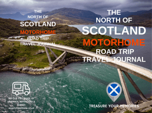 Cover - The North Of Scotland Motorhome Road Trip Travel Journal