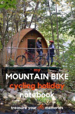 My Mountain Bike Cycling Holiday Notebook
