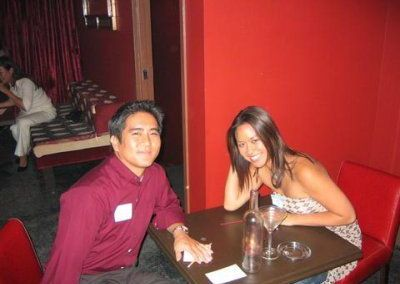 Speed Dating and Happy Hour, Sep 30, 2004