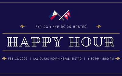 First happy hour collaboration of 2020 with Nepali Young Professionals!