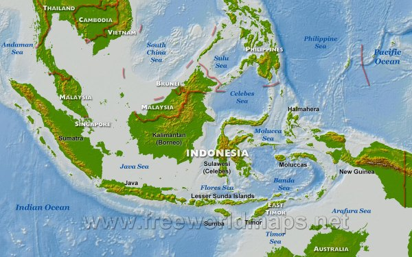 Geography Indonesia and Climate Change