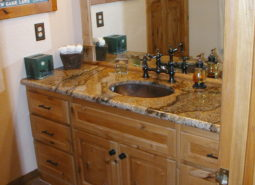 Rustic Alder Bathroom Vanity