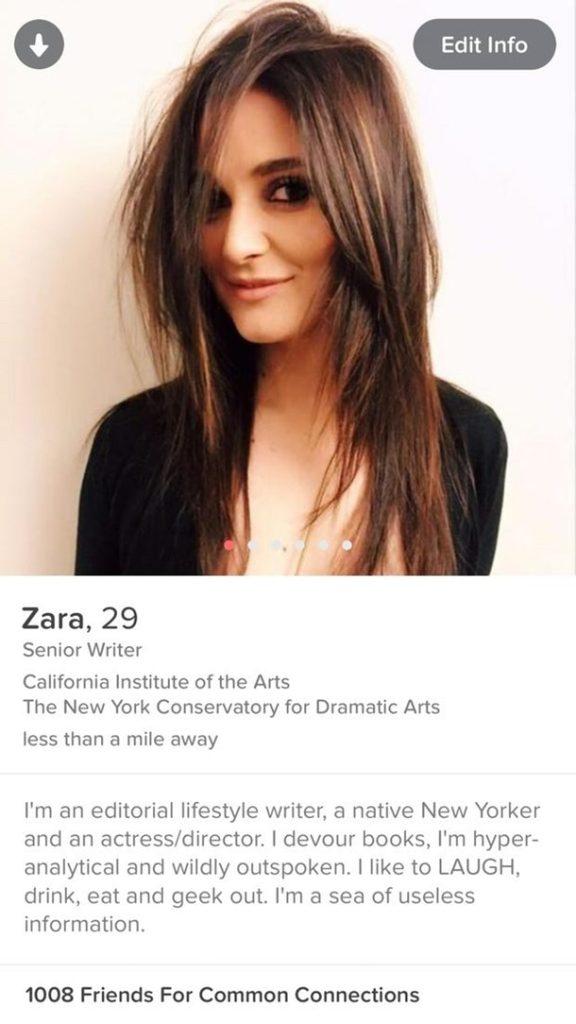Naughty tinder profiles