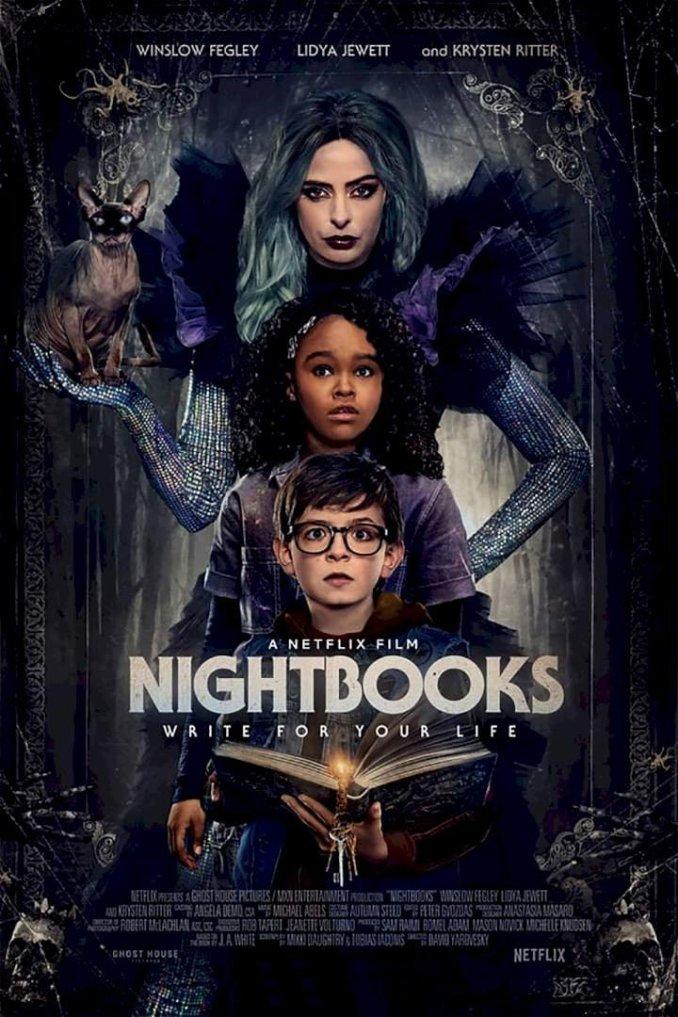 Nightbooks (2021) – Hollywood Movie | Mp4 Download