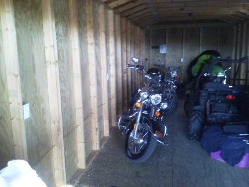small resolution of wiring a storage shed