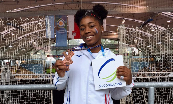 Championne de Judo soutenue par GB Consulting coaching