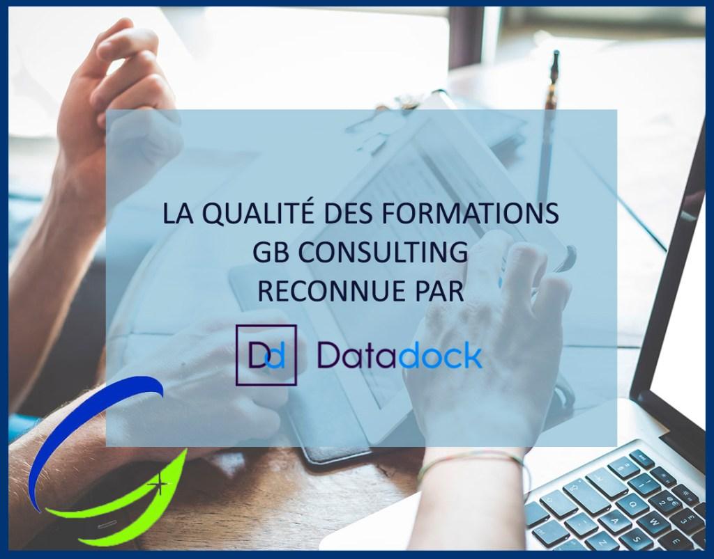 gb consulting reconnu datadock