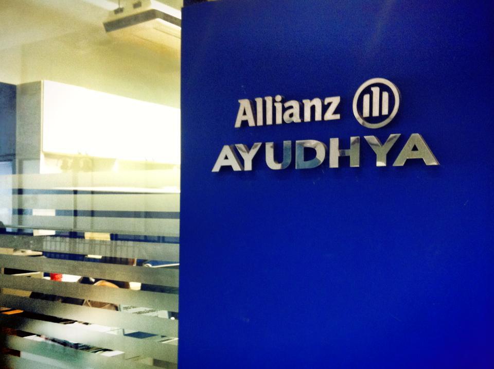 アリアンツアユタヤ社のロゴ・タイ保険
