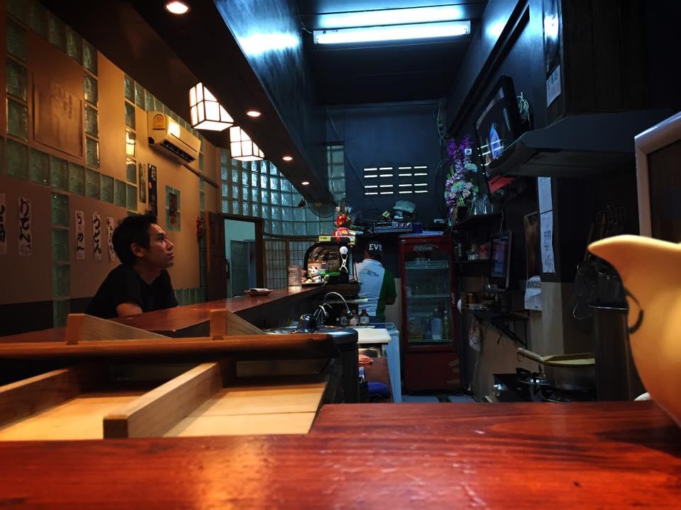 パタヤ日本料理・うまんちゅ店内