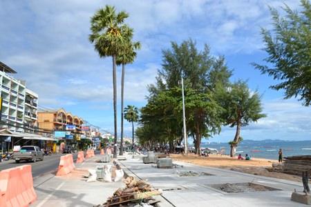 ジョムティエンビーチの整備計画が進行中
