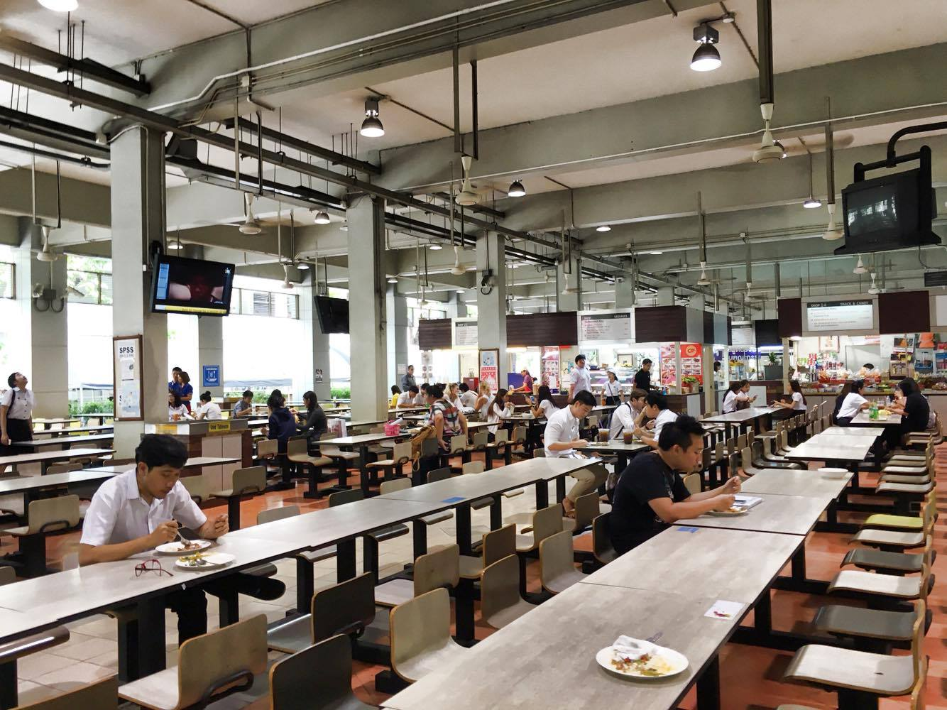 Bangkok university food court