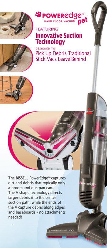 BISSELL PowerEdge Pet Hard Floor Corded Vacuum 81L2T