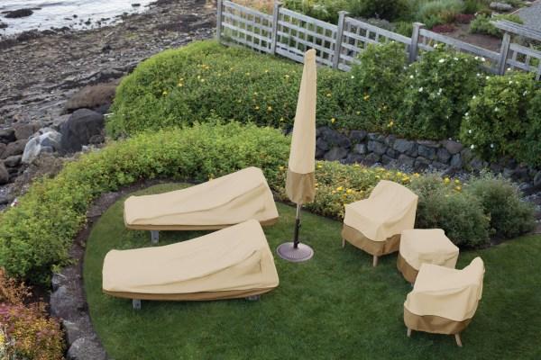 Classic Accessories 55-229-011501-00 Veranda Patio Corner Sectional Sofa Cover