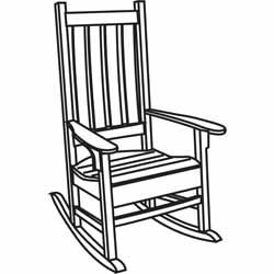 lounge chair replacement straps ghost stool amazon.com : classic accessories veranda porch rocker cover patio covers patio, lawn ...