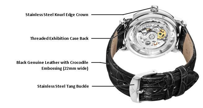 Buy Stuhrling Original Analog Silver Dial Men's Watch