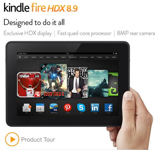 Kindle Fire HDX: quick tour