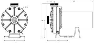 Swimming Pool Garden: Hayward 6060 3/4-HP Booster Pump
