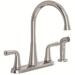 American Standard Kitchen Faucet Outdoor Kitchens Kits 9089501 002 Angeline Two Handle