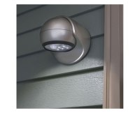 Fulcrum 20031-101 6-LED Porch Light, Silver - Wall Porch ...