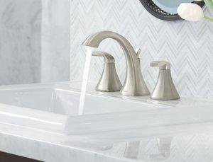 Moen T6905 Voss TwoHandle High Arc Bathroom Faucet