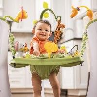 Baby Bouncer Chair Infant Exer Saucer Evenflo Safari ...