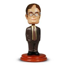 DWIGHT SCHRUTE BOBBLE HEAD