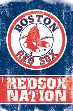 Boston Red Sox (Redsox Nation Logo) Sports Poster Print - 22