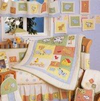 Baby Stores: Barnyard 6 Piece Crib Bedding Set, by Kidsline