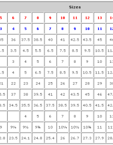 Mexico size conversion chart clothing also mersnoforum rh