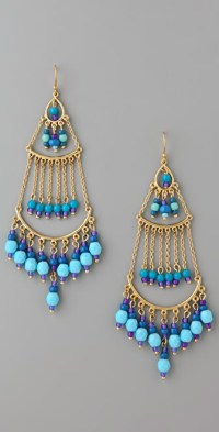 Lee Angel Jewelry Beaded Chandelier Earrings | SHOPBOP