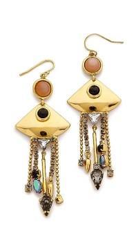 Lizzie Fortunato Mexico Fringe Earrings