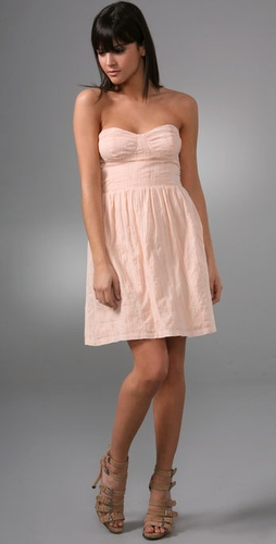 Dallin Chase Matteo Strapless Dress
